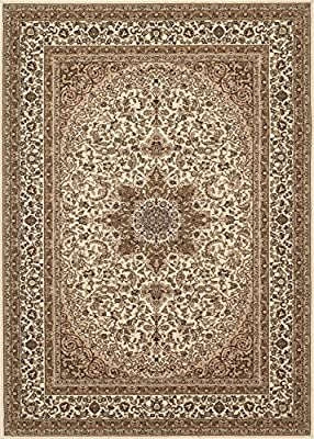 Traditional Oriental High Quality Medallion Design Area Rug
