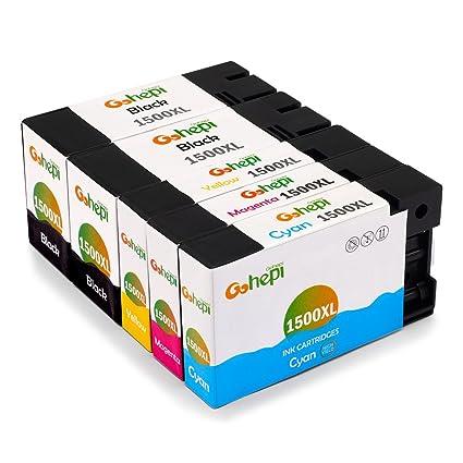 Gohepi PGI-1500XL Compatible para Cartuchos de tinta Canon PGI ...