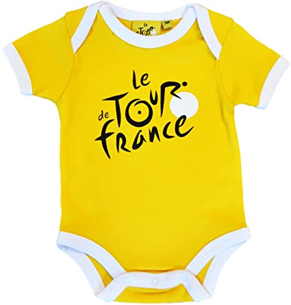 Body bebé Le Tour de France de ciclismo – Collection officielle – Talla bebé niño