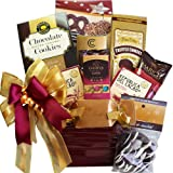 Art of Appreciation Gift Baskets Summer Gift Basket (Hooked on Chocolate Assorted Truffles and Treats)