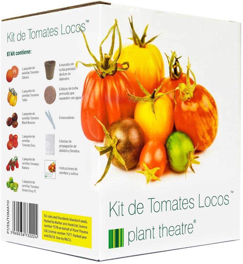 Plant Theatre Kit de Tomates Locos - 6 variedades extrañas y ...