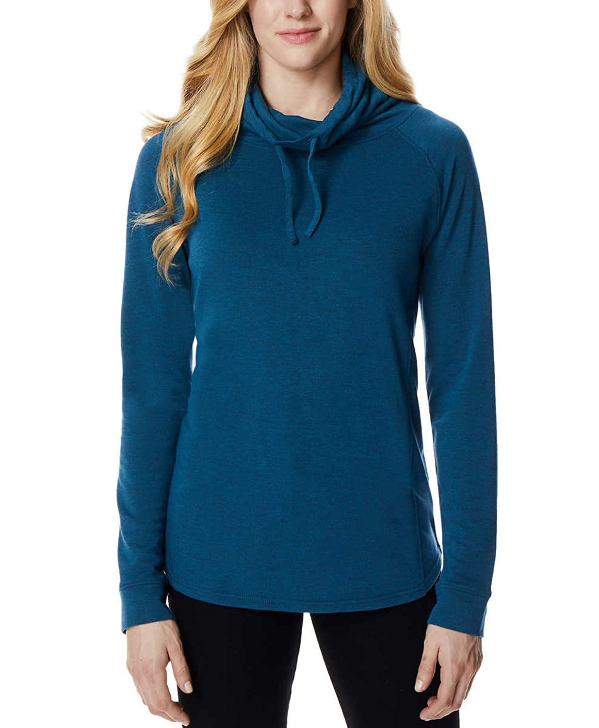 5f4a5cfe331 32 DEGREES Ladies' Funnel Neck Top