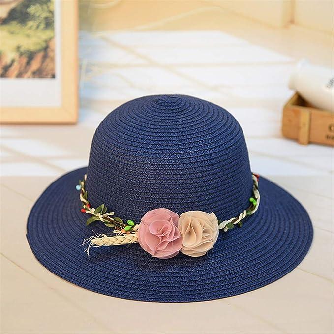 MERICAL Visera Chica Sombrero De Paja Playa De Mujeres Sombrero De ...
