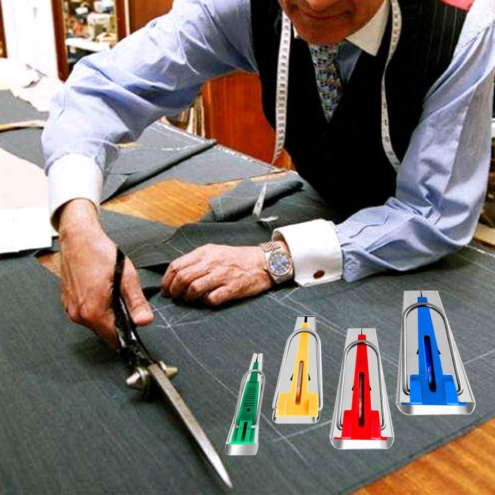 para costura y acolchado de cinta al bies Cinta al bies de tela con 4 tama/ños 6 mm//12 mm//18 mm//25 mm