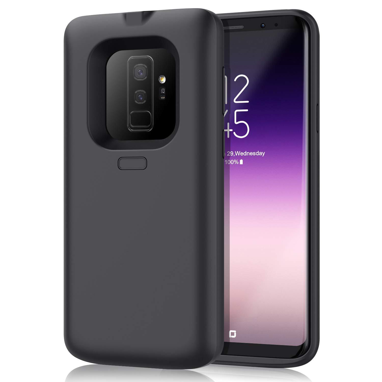 Funda Con Bateria De 6500mah Para Samsung Galaxy S9 Plus Pxwaxpy [7mscbxzy]