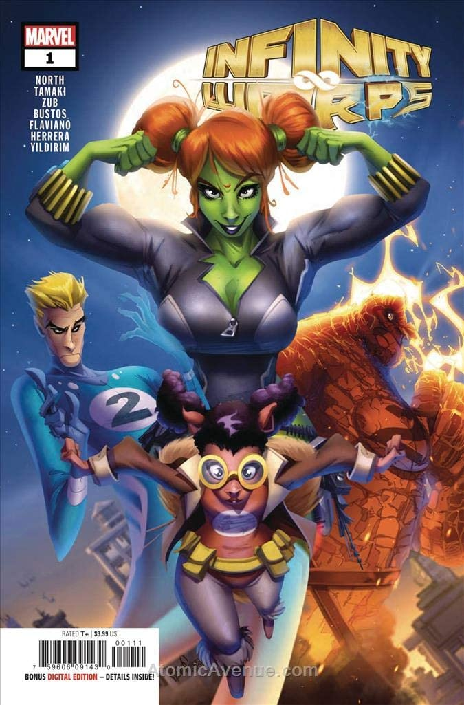 Infinity Warps #1 Marvel NM Comics Book