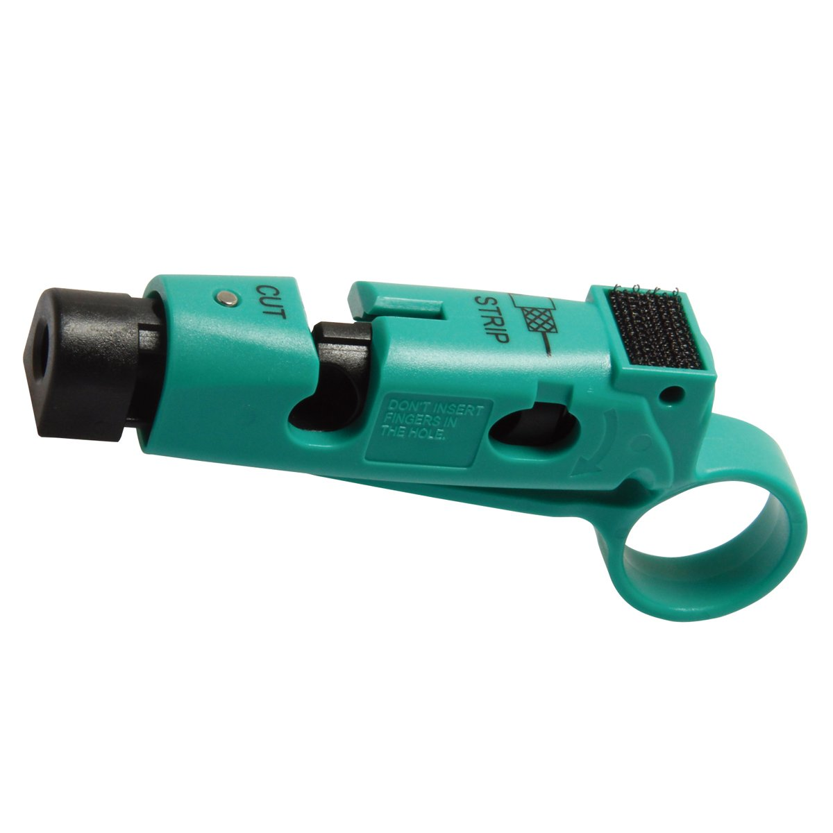 CP-507 Coaxial Cable Stripper/Cutter for RG-59, RG-6 Coaxial Cable Wire Stripper Tool 111mm Length by Tpmall (Image #4)