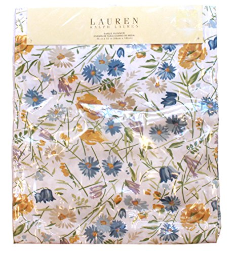 Ralph Lauren Georgica Garden Yellow Table Runner