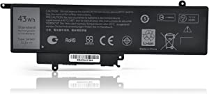 New 11.1V 43Wh GK5KY Built-in Battery Replacement for Dell Inspiron 11 3000 3147 3148 3152 13 7000 7353 7352 7347 7348 7359 7558 7568 04K8YH 92NCT 4K8YH 092NCT 4-Cell High Performance