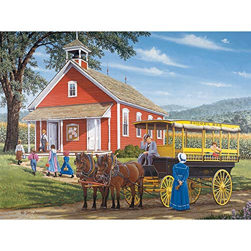 Bits and Pieces - Morning, Ma'am 300 Piece Jigsaw Puzzles for Adults - Each Puzzle Measures 18