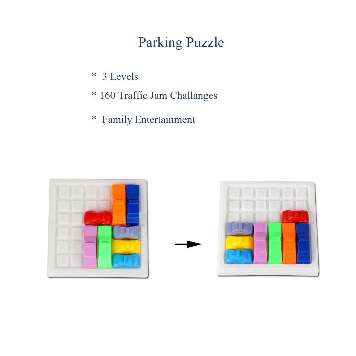 traffic jam logic game car yigooood challenging iq car parking