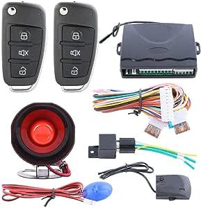 جهاز أنذار مع كتاوت فصل للحماية من سرقة السيارة SPY