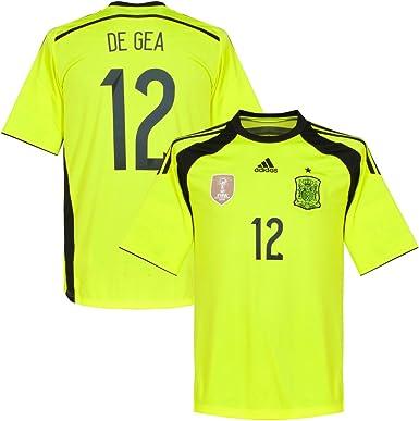 adidas España Away TW Camiseta 2014 2015 + de GEA 12 Azul Talla:Large: Amazon.es: Deportes y aire libre