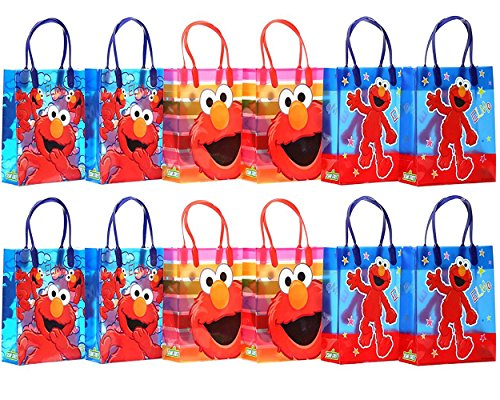 Sesame Street Elmo Party Favor Gift Bag - 8
