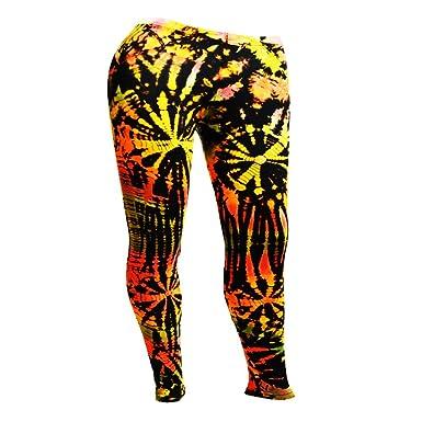 ee7cebfc726fa Mr.Bangkok Tie-Dye Wrestling Legging Tights Pants Yoga Trousers Joggers  Dance Workout Running Gym: Amazon.co.uk: Clothing