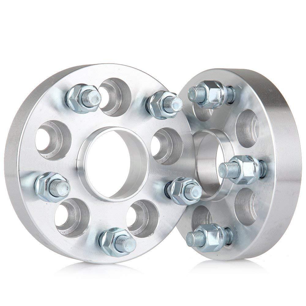 Hubcentric Wheel Spacers Adapters 5 lug 4X 5x100 to 5x114.3 56.1 bore Fits for Subaru Impreza Subaru Foreste Subaru Forester Saab 9-2X Scion 1 ECCPP 25mm