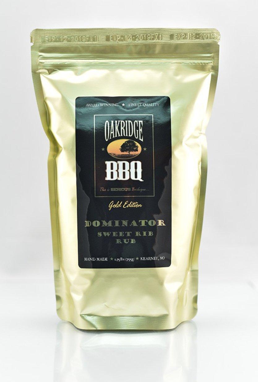 Oakridge BBQ Dominator Sweet Rib Rub - 1.75 lb