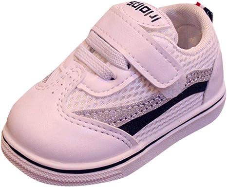 Zapatillas NIÑO Zapatillas de zapatos de niño zapatillas zapatos de trabajo deportivos zapatos niño Sport Running Zapatos Niños Niñas Camiseta Muelles Suela Zapatillas Deportivas morwind 19 Negro: Amazon.es: Bebé