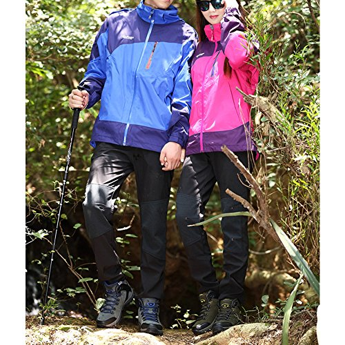 Warm Women Travel Camping Blue Couples Shoes Grey top Shoes Eastlion Hiking Climbing Men Outdoor Winter Breathable High Male 1wAq8x5