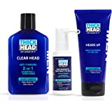THICK HEAD HEAD START Hair Loss Treatment & Regrowth System for Men | Includes Shampoo and
