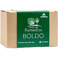 Boldo Jardín de Remedios 7501112004724 Jardín de Remedios Boldo, Boldo, 30 gramos