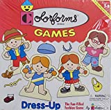 COLORFORMS Brand 'FASHION' DRESS UP GAME w NO Reading Required (1998 Made in USA)