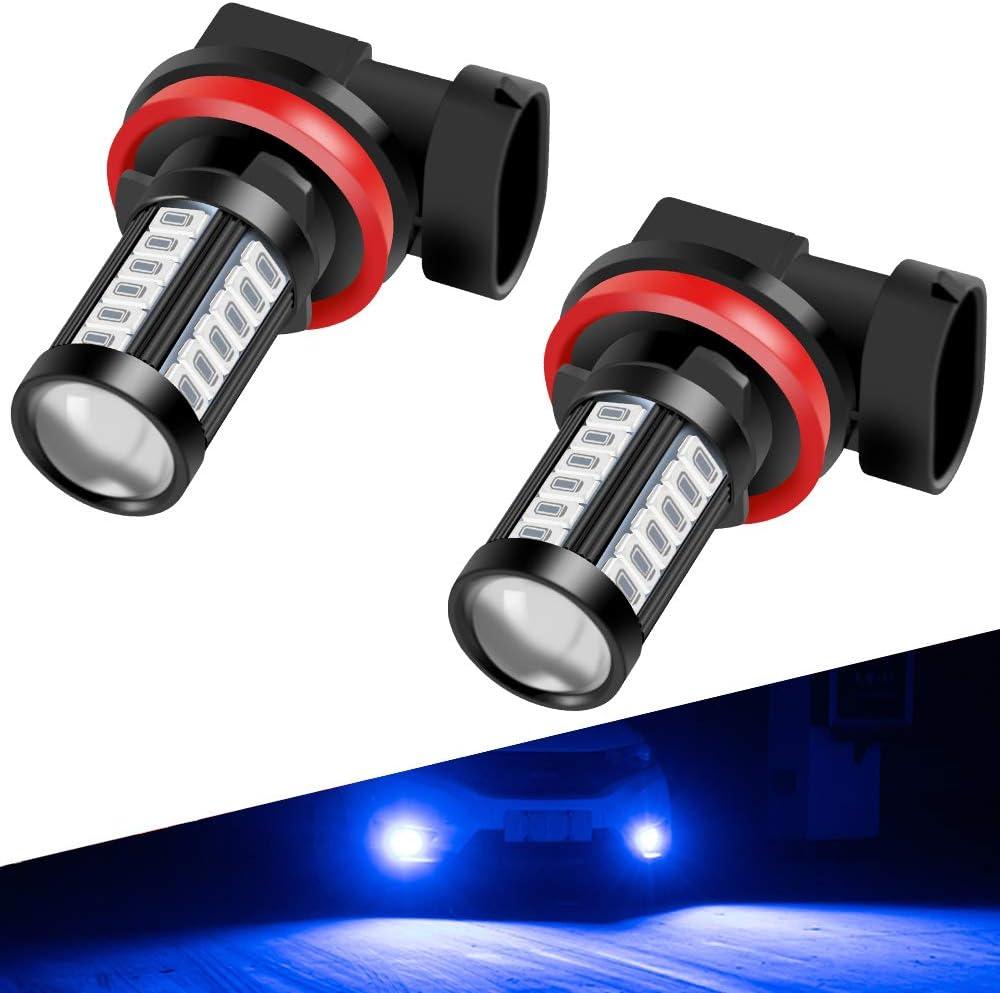 Headlight Bulbs Motors 6000K LED Fog Light Bulbs Xtreme CMB H11/H9 ...