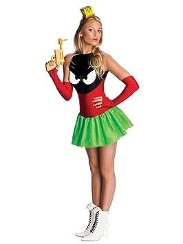 Rubies Marvin el Mars humanos Disfraz Para Mujer Disfraz Sexy ...