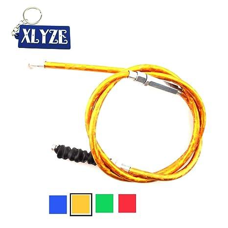 XLYZE cable de embrague de oro para 50cc 70cc 90cc 110cc 125cc 140cc 150cc 160cc CRF