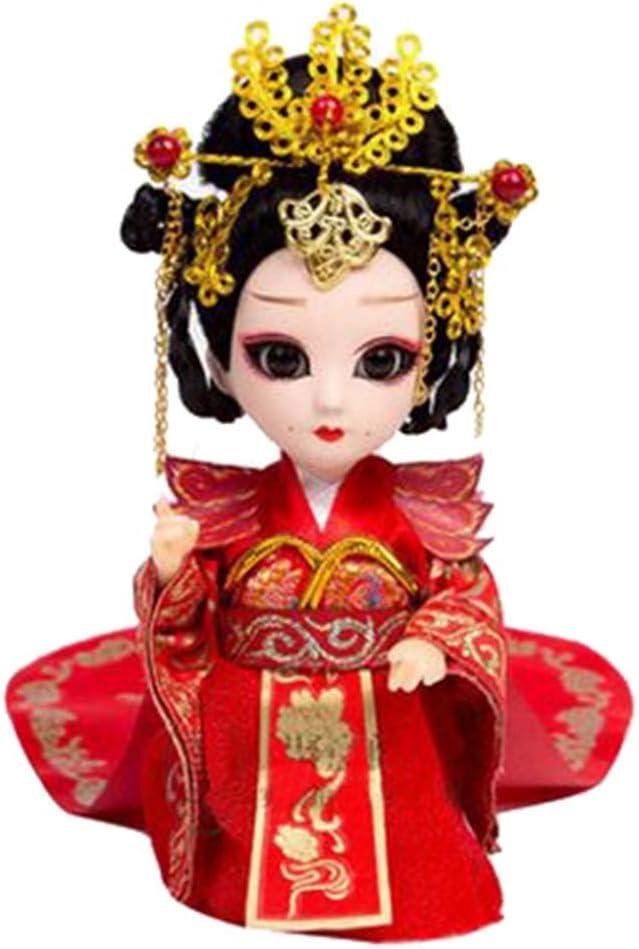Amazon.es: Blancho Bedding Poderoso Wu Zetian Artesanía China Pekín Opera Muñecas Decoración: Juguetes y juegos
