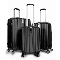 Deals on Deco Gear Travel Elite Series 3-Piece Hardside Spinner Luggage Set