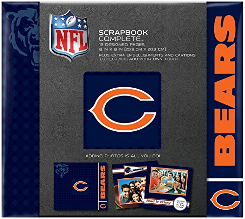 (C.R. Gibson Scrapbook Complete Kit, Small, Chicago Bears (N861596M))