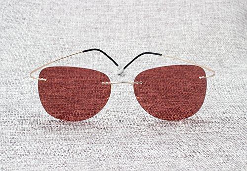 polarizadas de ultraligeras 10 sol para titanio 3 de Gafas Fashion hombre Aprigy xqXaII