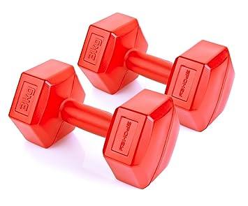 Mancuernas | Spokey Monster II | aerobik - Mancuernas (2 unidades, 1 - 5 kg | Fitness mancuernas | Dumbbell para musculatura.: Amazon.es: Deportes y aire ...