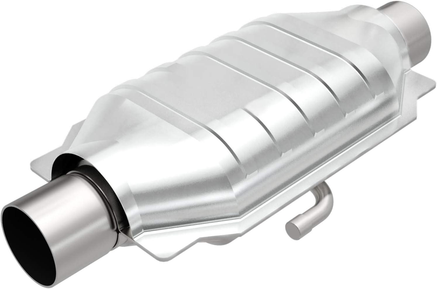 Non CARB Compliant MagnaFlow 94215 Universal Catalytic Converter