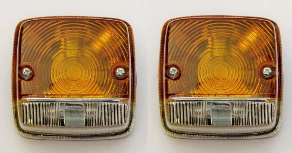 11001302L2 Side Indicator Lamp For Case International John Deere Deutz Fahr Tractor Side Light