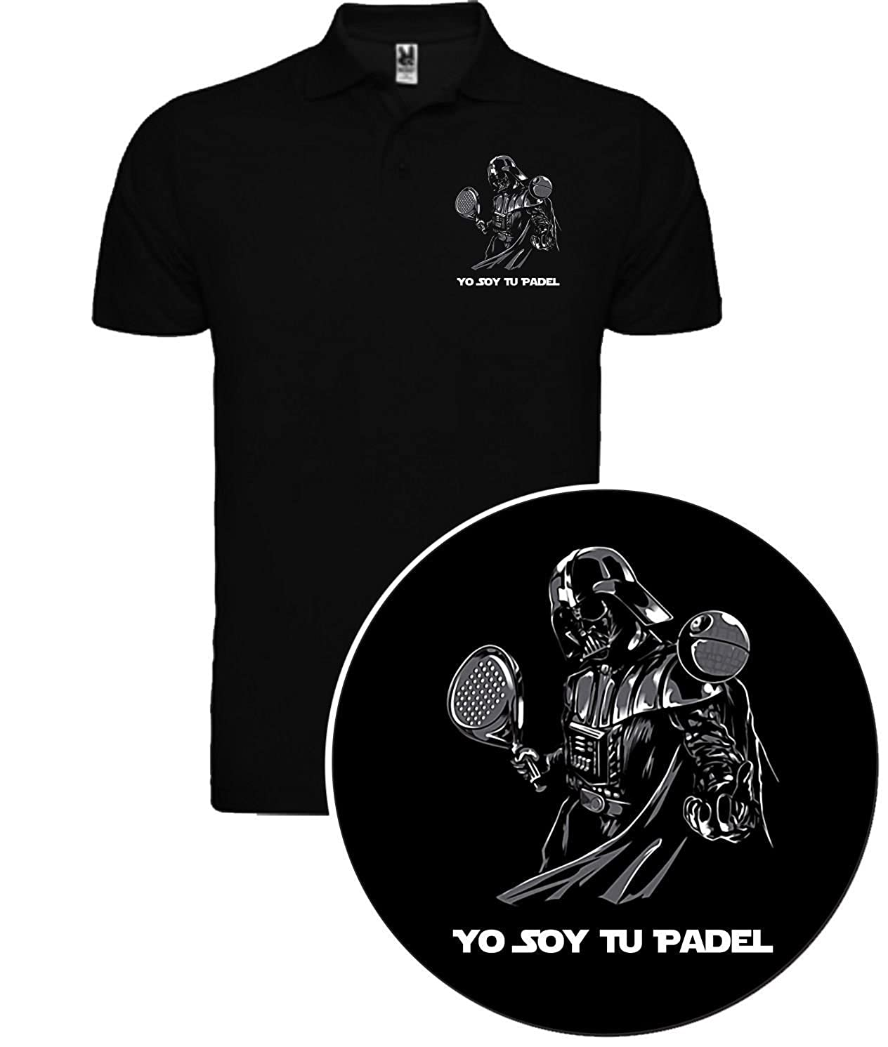 The Fan Tee Polo de Hombre Star Wars Dark Vader Han Solo ...