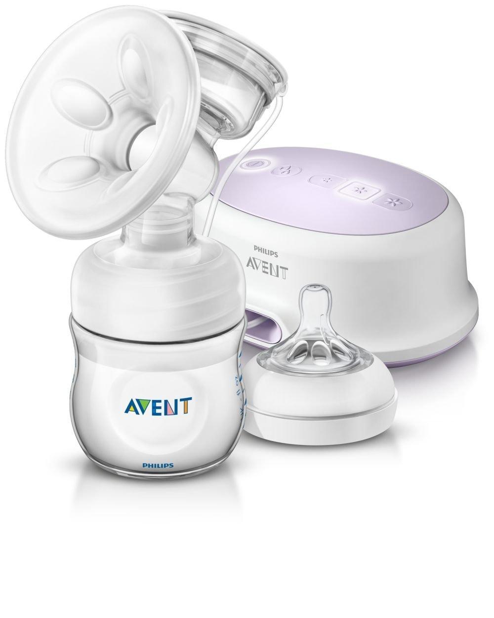 Philips Avent SCF Extractor de leche eléctrico con cojín masajeador suave