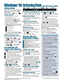 Windows 10 Introduction with 2017 Creators Update Quick Reference Guide (Cheat Sheet of Instructions, Tips & Shortcuts - Laminated)