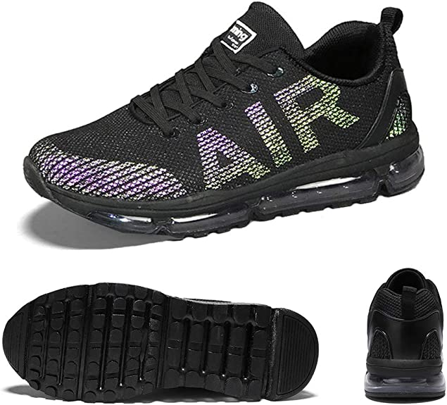 Hombre Mujer Zapatillas de Deportes Zapatos Deportivo Sneakers Running para Correr y Asfalto Aire Libre y Calzado: Amazon.es: Zapatos y complementos