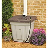 50-Gallon Garden Backyard Rain Barrel, Water Storage
