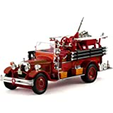 1931 Seagrave Fire Truck Sound Beach Volunteer Fire Dept., Red - Signature Models 32380 - 1/32 Scale Diecast Model Toy Car