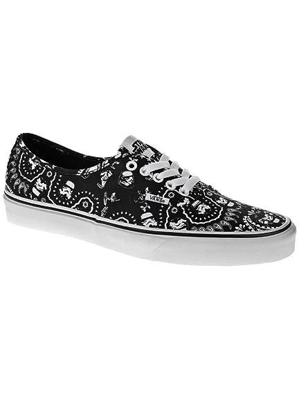 73e416a48b2bed Vans Authentic (Star Wars Stormtrooper Bandana) Men s Skate Shoe-9.5   Amazon.ca  Shoes   Handbags