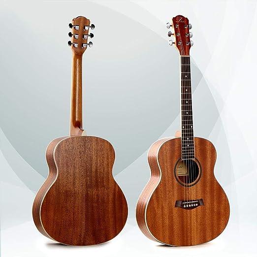 North King Guitarra de Madera Maciza Hecho Instrumento de Folk ...