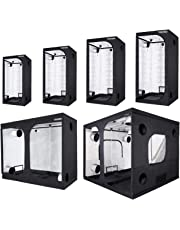 TRAFIKA Chambre de Culture intérieur/Grow Tent/GROWTENT/Grow Box/GROWBOX/Tente de Culture Indoor/GROWROOM hydroponique/Mylar Premium 97% Réflectivité