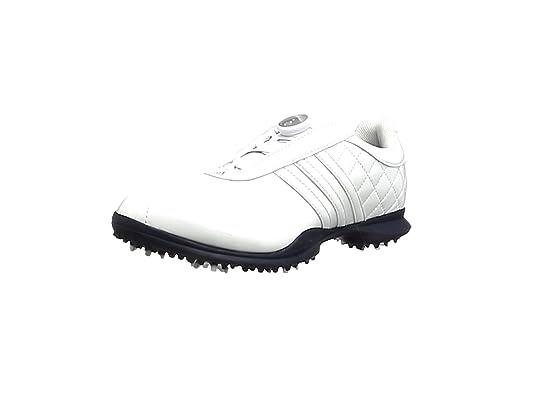 buy popular a792b 7724e Adidas Dri Boa – Chaussures de Golf pour Femme, BlancBleu foncé