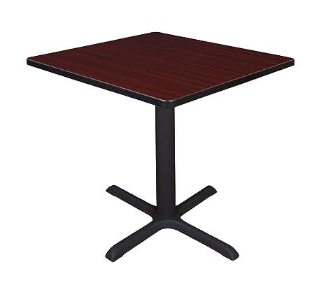 Amazon.com: Regency Asientos mesa lunchroom cuadrada con una ...