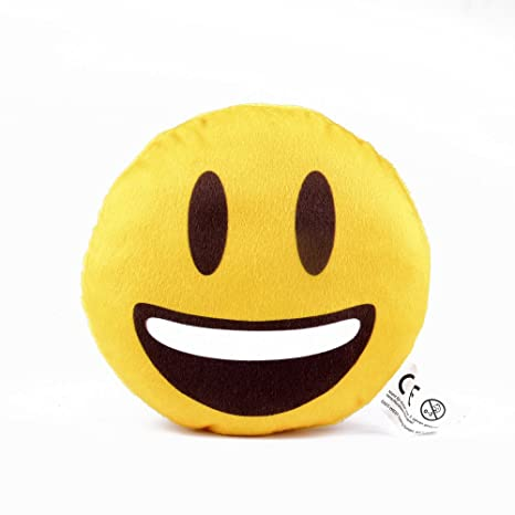 Mini Cojín de emoji Emoticon Smiley, regalo, Knuddel Cojín ...