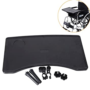 Review KIKIGOAL Wheelchair Tray Table