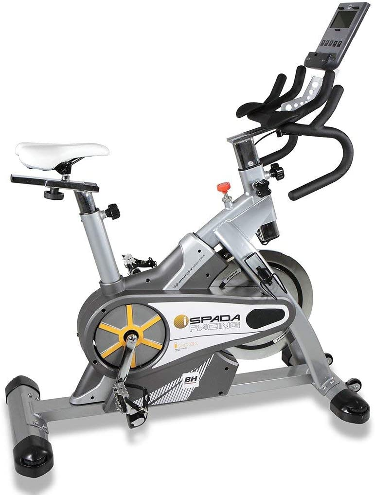 BH Fitness - Bicicleta Indoor i.spada Racing Dual + Dual Kit ...